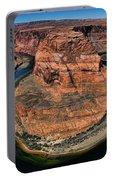 Colorado River Circles Horseshoe Bend Page Arizona Usa Portable Battery Charger