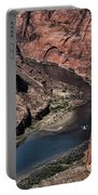 Colorado River Horseshoe Bend Color  Portable Battery Charger
