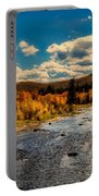 Colorado River In Autumn Portable Battery Charger