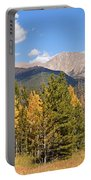 Colorado Rockies National Park Fall Foliage Panorama Portable Battery Charger