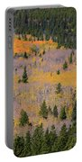 Colorado Rocky Mountains Autumn Colors Portable Battery Charger