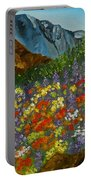Colorado Wildflowers Portable Battery Charger
