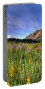 Colorado Wildflowers Portable Battery Charger by Scott Mahon