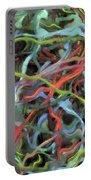 Colored Dream Abstract Portable Battery Charger