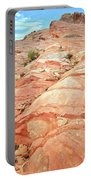 Colored Hill In Valley Of Fire Portable Battery Charger