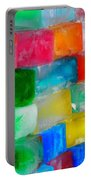 Colored Ice Bricks Portable Battery Charger