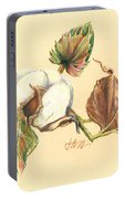 Colored Pencil Cotton Plant Portable Battery Charger