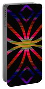 Colorful Abstract 11 Portable Battery Charger