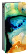 Colorful Abstract Art - The Calling - By Sharon Cummings Portable Battery Charger