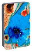Colorful Abstract Art - The Reef - Sharon Cummings Portable Battery Charger