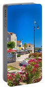 Colorful Adriatic Town Of Rogoznica Portable Battery Charger