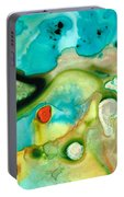Colorful Art - Soul Shine - Sharon Cummings Portable Battery Charger