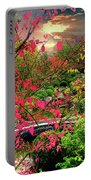 Colorful Autumn Portable Battery Charger