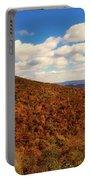 Colorful Autumn Panorama - West Virginia Portable Battery Charger