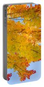 Colorful Autumn Reaching Out Portable Battery Charger