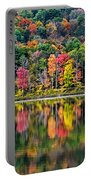 Colorful Autumn Reflections Portable Battery Charger