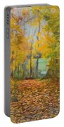Colorful Autumn Trail Portable Battery Charger