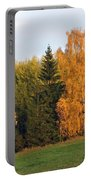 Colorful Autumn - Trees In Autumn Portable Battery Charger