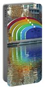 Colorful Bandshell Portable Battery Charger
