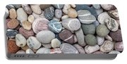Colorful Beach Pebbles Portable Battery Charger