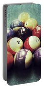 Colorful Billiard Balls Portable Battery Charger