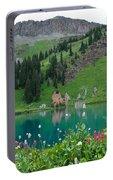 Colorful Blue Lakes Landscape Portable Battery Charger