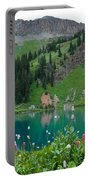 Colorful Blue Lakes Landscape Portable Battery Charger