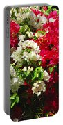 Colorful Bougainvilleas Portable Battery Charger