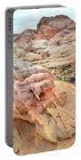 Colorful Boulder Above Wash 3 In Valley Of Fire Portable Battery Charger
