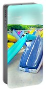 Colorful Canoes Portable Battery Charger