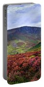 Colorful Carpet Of Wicklow Hills Portable Battery Charger