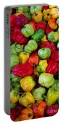 Colorful Chili Pepper Portable Battery Charger