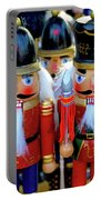 Colorful Christmas Nutcrackers Portable Battery Charger