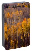 Colorful Colorado Autumn Landscape Vertical Image Portable Battery Charger