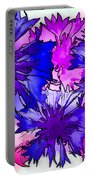 Colorful Cornflowers Portable Battery Charger