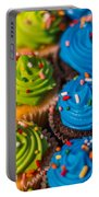 Colorful Cupcake Portable Battery Charger