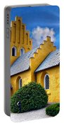 Colorful Danish Church Portable Battery Charger