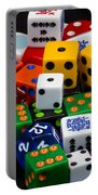 Colorful Dice 2 Portable Battery Charger