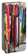 Colorful Dominican Garments Portable Battery Charger
