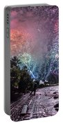 Colorful Explosions Portable Battery Charger
