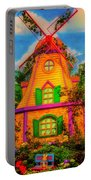 Colorful Fantasy Windmill Portable Battery Charger