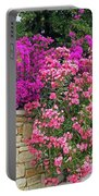 Colorful Flowering Shrubs Portable Battery Charger