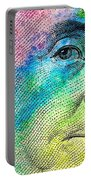 Colorful Franklin Portable Battery Charger