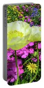 Colorful Garden II Portable Battery Charger