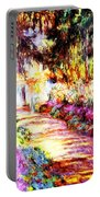 Colorful Garden Portable Battery Charger