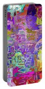 Colorful Glass Bottles Abstract Portable Battery Charger