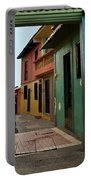 Colorful Guayaquil Alley Portable Battery Charger