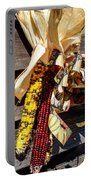Colorful Indian Corn Decorations Portable Battery Charger