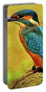 Colorful Kingfisher Portable Battery Charger