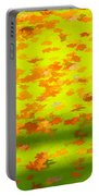 Colorful Leaves On Canal Portable Battery Charger